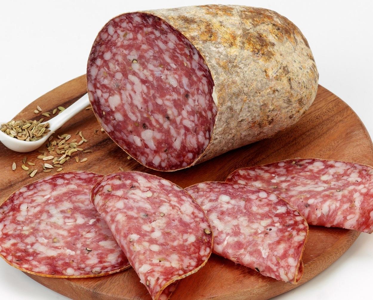 Finocchiona ist eine toskanische Spezialität