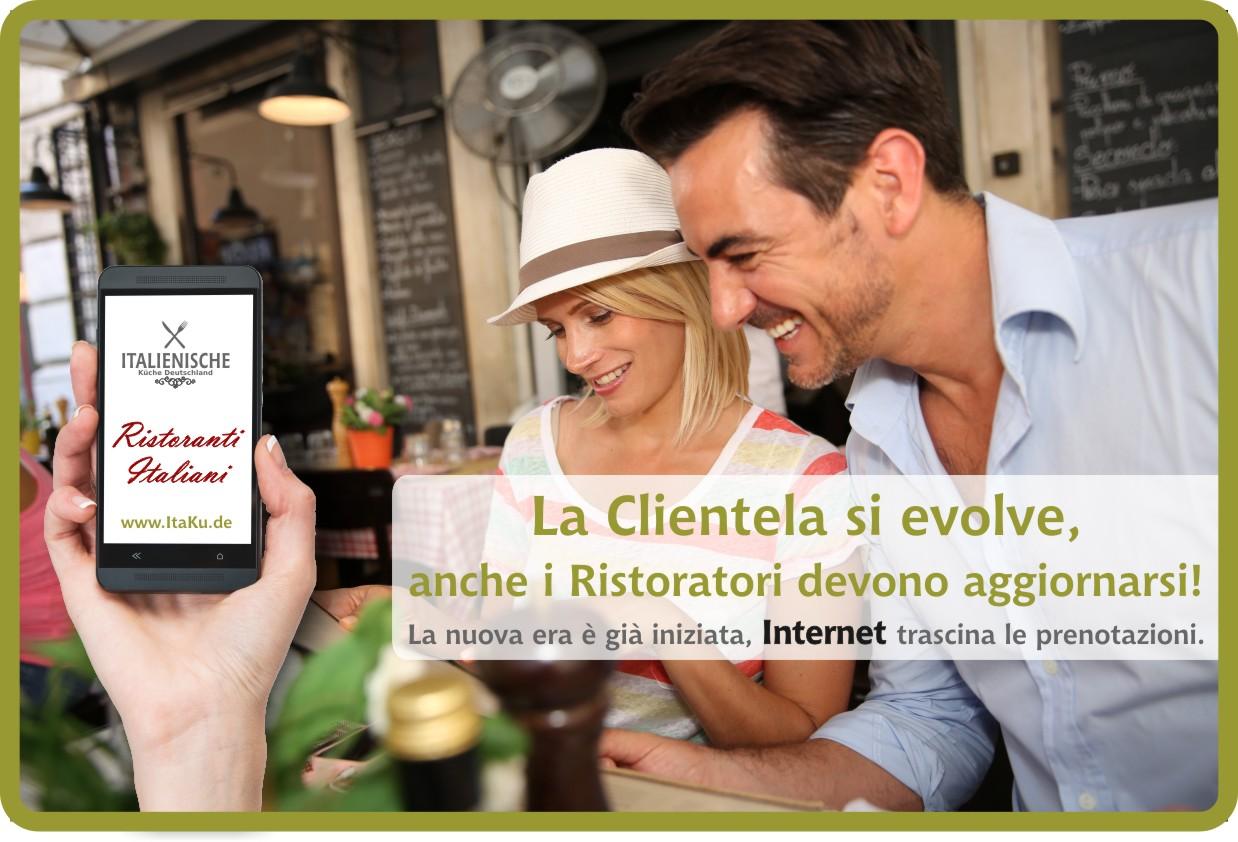 La Clientela si evolve, anche i Ristoratori devono aggiornarsi con Internet!
